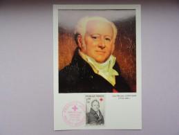 CARTE MAXIMUM CARD BARON JEAN-NICOLAS CORVISART-DESMARETS - 1960-69