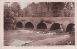VILLE EN BLAISOIS Le Pont Sue La Blaise - France