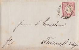 DR Brief EF Minr.19 Nieder-Marsberg 4.8.73 - Deutschland