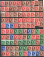 _4Zw701:  Rest Of 100 Stamps :....diverse... Om Verder Uit Te Zoeken.... - Gebraucht