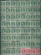 _4Zw-259: Restje Van 60 Zegels... Om Verder Uit Te Zoeken.. 25jaar.. - 1891-1948 (Wilhelmine)