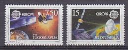 Europa Cept 1991 Yugoslavia 2v Used (T1119) - Europa-CEPT