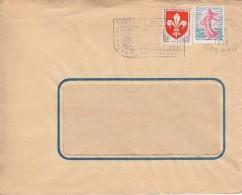 13 01 1960 - SAVERNE - Station Estivale, Ses Roses, Son Chateau - C - Marcophilie (Lettres)