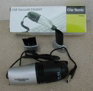 Mini Aspirateur USB Vacuum Cleaner Clip Sonic Marqué Républicain Lorrain - Technical
