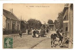 VENTE DIRECTE: VANNES Militaires - Devant L'Octroi - Vache Attachée Boutique Du Coiffeur - Vannes