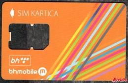 Bosnia Sarajevo - BHmobile -  (GSM SIM) - Used Without Chip - Bosnia