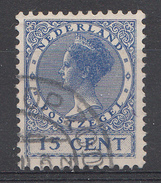 Pays-Bas 1924 Mi.nr.:156 Königin Wilhelmina  Oblitérés / Used / Gestempeld - 1891-1948 (Wilhelmine)