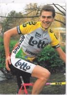CYCLISTE - FRANK VAN DEN ABBEELE - Cyclisme