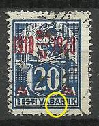 Estland Estonia 1928 Michel 72 + ERROR O - Estonia
