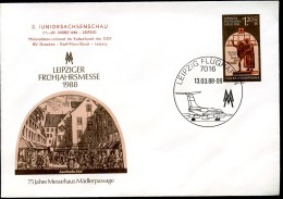 FAUST MEPHISTO DDR U8-1-88 C1 Umschlag Zudruck Sost. 1988 - Theatre