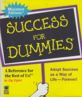 ##Success For DUMMIES## By Zig Zigler - Illustrations By Terry Peterson / Cartoons Rich Tennant. Issued By RUNNING PRESS - Boeken, Tijdschriften, Stripverhalen