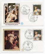 Italia - 1982 - Tematica Arte - Pittura - Lotto Due Buste FDC - 1683/1754 - G.B.Piazzetta - Pittore - (FDC1073) - FDC