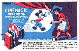 C C/Buvard   Cinémagic Mère Picon (N= 1) - Cinéma & Théatre