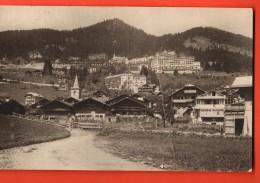 FIB-11  Leysin Village. Léger Pli Cachet 1920 - VD Vaud
