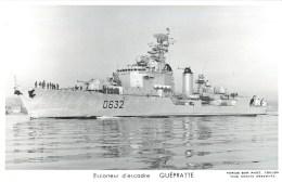 ESCORTEUR D´ESCADRE GUEPRATTE PHOTOGRAPHE TOULON MARIUS BAR MARINE NAVIRE DE GUERRE PAQUEBOT BOAT TRANSPORT BATEAU - Warships