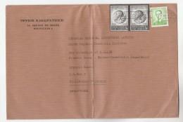 BELGIUM COVER Multi Stamps QUEEN ELISABETH 1876 1965  To GB Royalty - Belgium