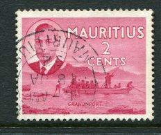 Mauritius 1950 KGVI Pictorials - 2c Grand Port Used (SG 277) - Mauritius (...-1967)