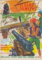1966 : Vlaamse Filmpjes Nr.705 :  ## Avonturen Van Kapitein Caras: EEN ONGELIJKE STRIJD ## Door RIK PUTTEMANS. - Kids