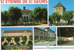 38  Saint  Etienne  De  Saint  Geoirs  Multivues - Andere Gemeenten