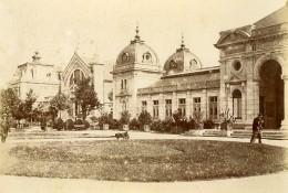France Besançon Bains Salins De La Mouillere Thermes Ancienne Photo Garnier 1896 - Antiche (ante 1900)