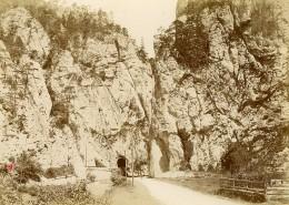 Suisse Clue De Moutier Tunnel Ancienne Photo Petitclerc 1896