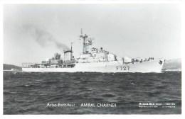 AVISO ESCORTEUR AMIRAL CHARNER PHOTOGRAPHE TOULON MARIUS BAR NAVIRE DE GUERRE PAQUEBOT BOAT TRANSPORT BATEAU - Guerre