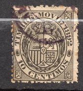 Espagne-- 2 Timbres  Movil 1892 + 1893  Oblitérés - Steuermarken/Dienstpost