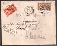 Maroc - Morocco - 1925 - Lettre De Casablanca Pour Le Danemark - Cachet D'arrivée - TB - R - Morocco (1891-1956)