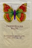 ITALIA : Sachet De Sucre/Sugar Package: VLINDER,PAPILLON,BUTTERFLY,   ## Papilio Machaon ## ## Vanessa Io ## - Sucres