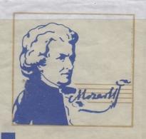 FRANCE : Suikerzakje/Sachet De Sucre/Sugar Package: MUSIC,COMPOSER,COMPOSITEUR, ## Wolfgang Amadeus MOZART (1756-91) ## - Sucres