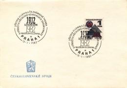 K9032 - Czechoslovakia (1982) Praha 1: Museum V. Lenin; Anniversary All-Russian Conference In Prague 1912