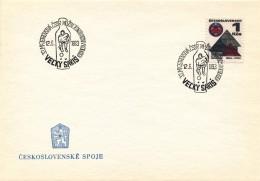K9046 - Czechoslovakia (1983) Velky Saris: 33. CSSR Championship Men's Individual In Bowling