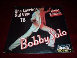 BOBBY  SOLO  °  UNA LACRIMA SUL VISO  78 - Vinyl Records