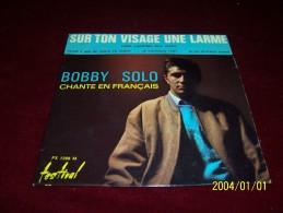 BOBBY  SOLO  °  SUR TON VISAGE UNE LARME - Vinyl Records