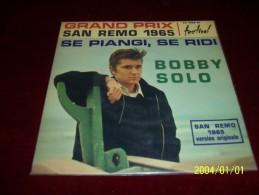 BOBBY  SOLO  °  SE PIANGI SE RIDI - Other - Italian Music