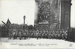 Fêtes De La Victoire (14 Juillet 1919) - Le Défilé Des Troupes Polonaises - Carte ND Phot Non Circulée - Autres