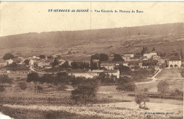 Saint Gengoux De Scisse Vue Generale Du Hameau De Bove - Altri Comuni