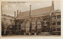 Exeter College Hall, Oxford - Published By The Oxford Times Co. - Carte Non Circulée - Oxford