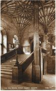 The Hall Stairs Christ Church, Oxford - Published By Walter Scott - Carte Non Circulée - Oxford