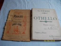 Lot De 9 Livrets Musicaux D'opéra - Opéra