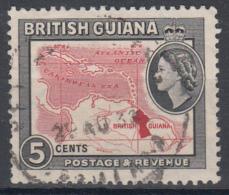 D5709 - British - Guyana Mi.Nr. 203 O/used - British Guiana (...-1966)