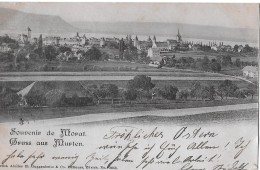 GRUSS AUS MURTEN → Souvenir De Morat Anno 1900 - FR Fribourg