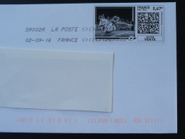 Rugby Timbre En Ligne Sur Lettre (e-stamp On Cover) TPP 3258 - Rugby