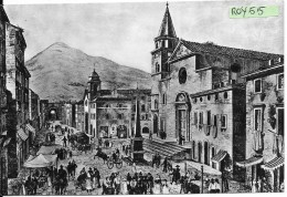Lazio-latina-fondi Piazza Della Repubblica Da Una Stampa Del 1780 - Italia