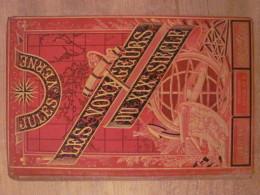 Jules Verne Hetzel Les Voyageurs Du XIX Siecle Engel Reliure Grands Voyages Et Grands Voyageurs Benett Cartes - 1801-1900