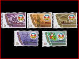 Burundi 0954/58**/MNH   Pays Des Grands Lacs - 1980-89: Neufs