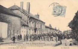 """MONTHOIS (Ardennes-08)  Rue Et Maison Remuat  """"Très Belle Animation"""" - Frankreich"""