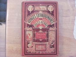 Jules Verne Hetzel Voyages Extraordinaires L Etoile Du Sud L Archipel En Feu Lenegre Rel. 2 Elephants - Libros, Revistas, Cómics