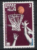 Griechenland Greece 1979 Mi# 1356 ** MNH Sport Basketball - Basketball