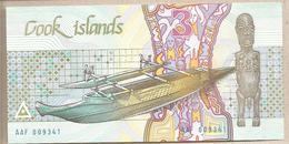 Cook - Banconota Non Circolata FdS Da 3 Dollari - 1987 - Islas Cook